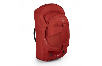 Hot trend Osprey FARPOINT TRAVEL BACKPACK - 70 L  JASPER RED
