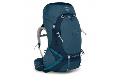 Hot trend Osprey AURA AG 65 WOMENS HIKING BACKPACK – 62 L  CHALLENGER BLUE