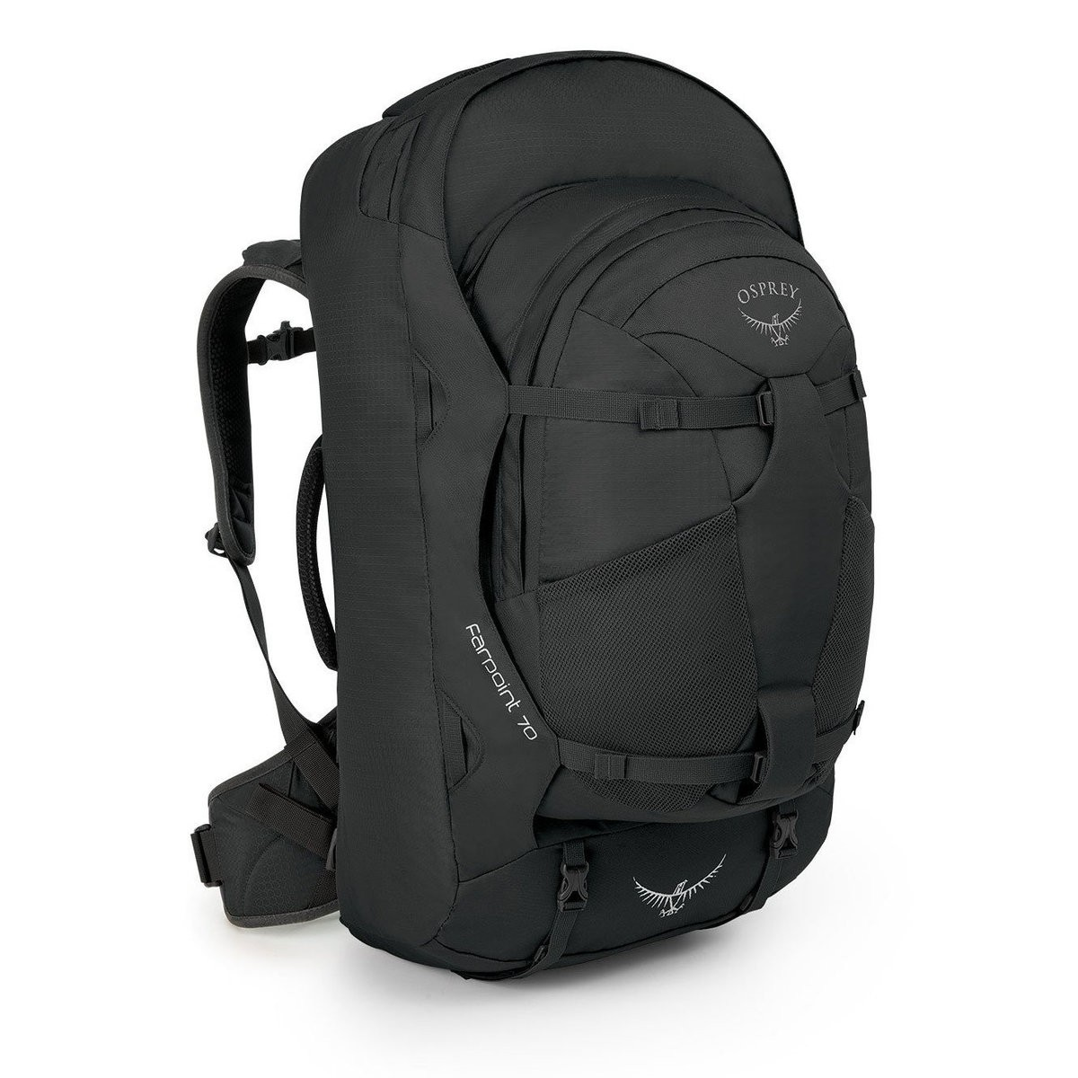 Osprey FARPOINT 70 TREKKING BACKPACK – 67 L  VOLCANIC GREY