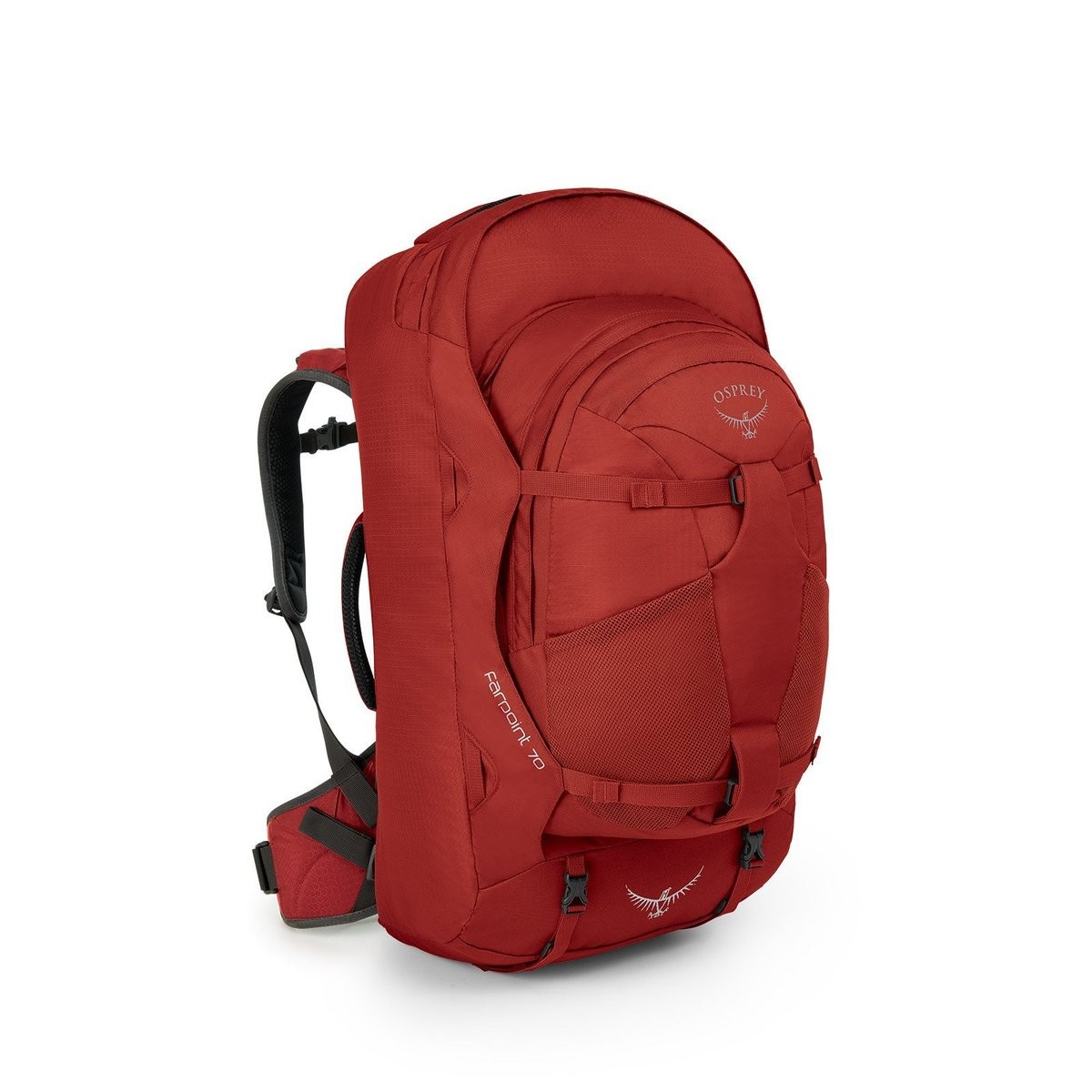 Hot Deals | Osprey FARPOINT TRAVEL PACK - 70 IITRESJASPER RED