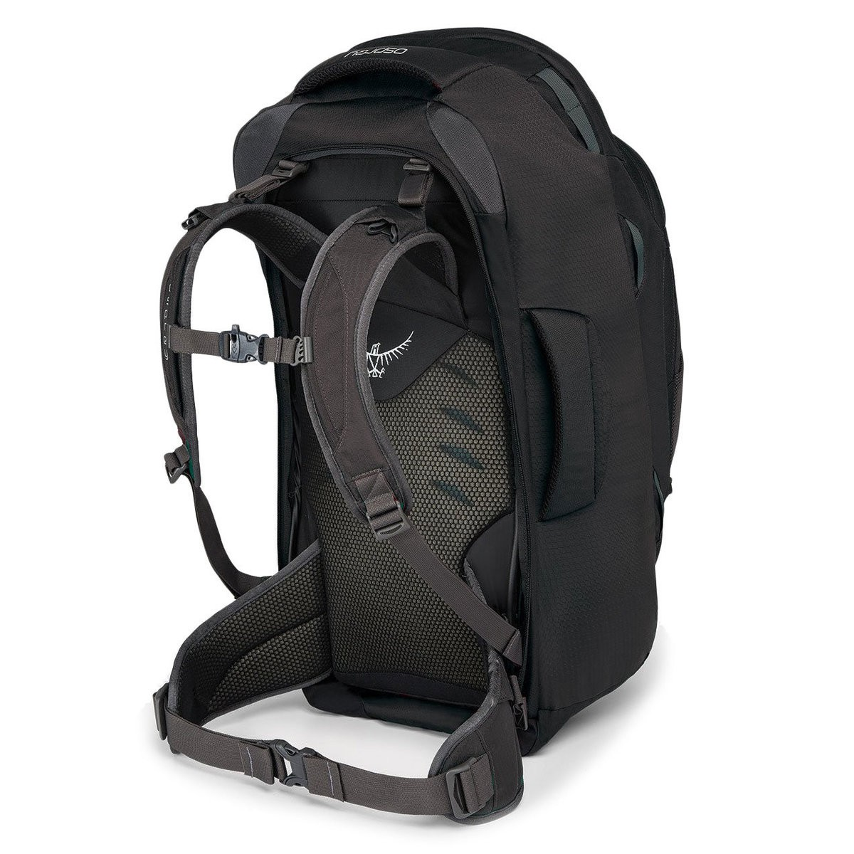 Osprey FARPOINT TREKKING BACKPACK – 55 L  VOLCANIC GREY