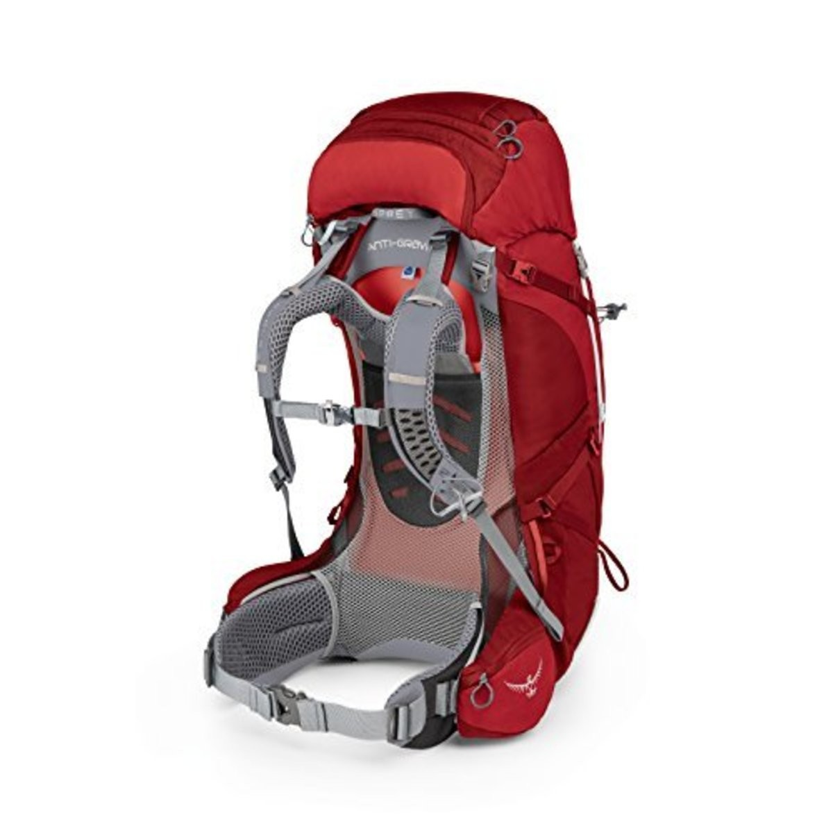 Hot trend Osprey ARIEL AG 65 PACK - WOMENS  PICANTE RED
