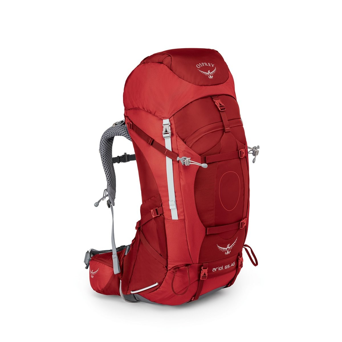 Christmas Sales 2019 | Osprey ARIEL AG 65 PACK - WOMENSPICANTE RED