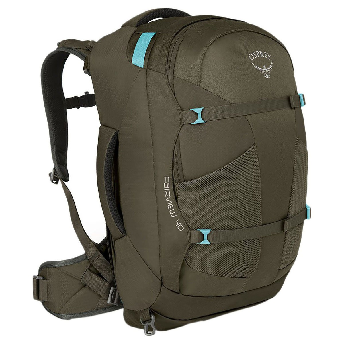 Hot Deals | Osprey FAIRVIEW 55 TREKKING BACKPACK - WOMENSMISTY GREY