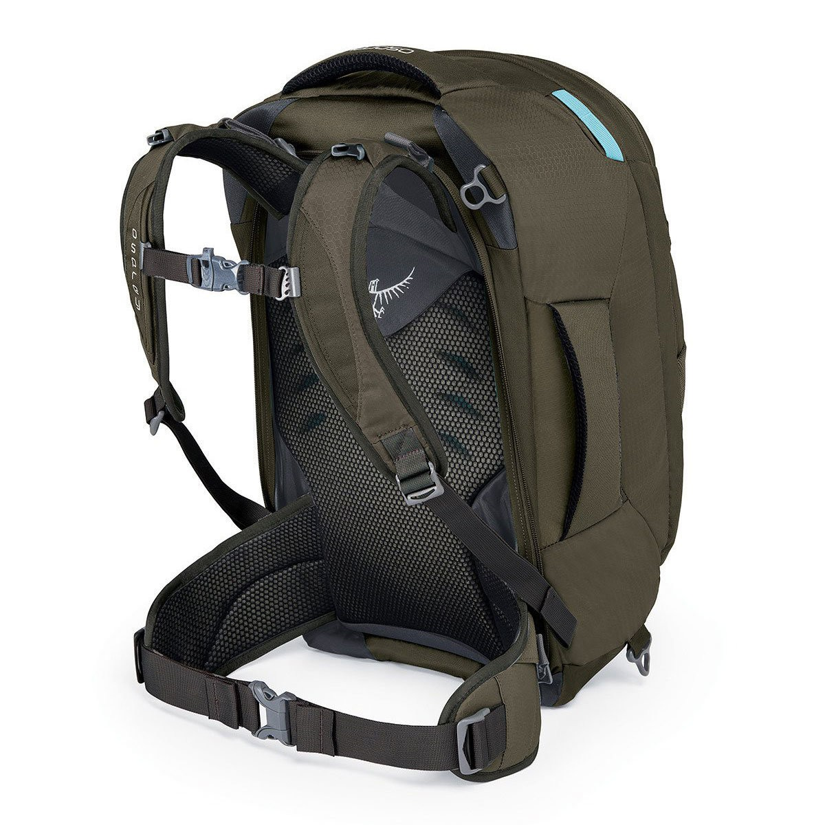 Hot Deals | Osprey FAIRVIEW 40L TREKKING BACKPACK – WOMENSMISTY GREY