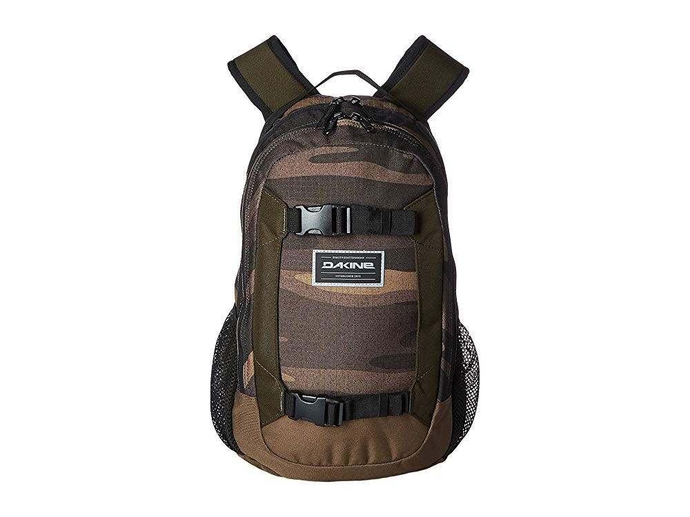 Sale off Dakine Mission Mini Backpack 18L (Youth) Field Camo